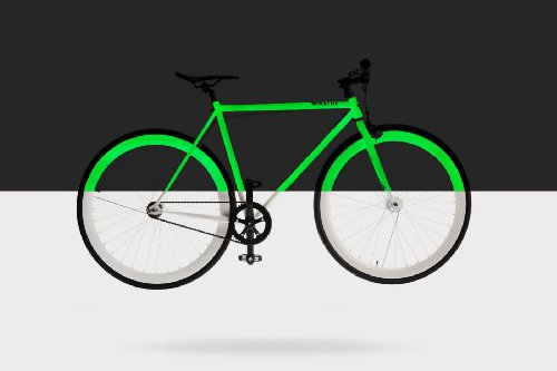 pure fix cycles glow in the dark fixed gear single speed