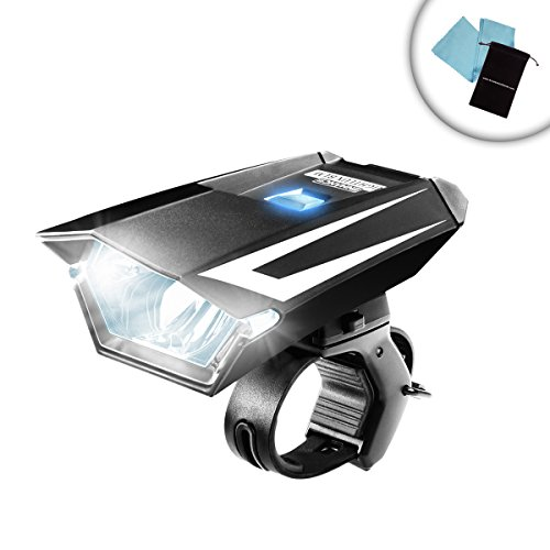 enhance nightlux blm bike headlight mount with ipx4 rating and cree led light works with. Black Bedroom Furniture Sets. Home Design Ideas