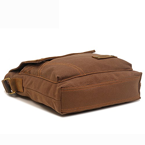 EcoCity Vintage Small Canvas Messenger Bag Shoulder Bag iPad Bags ... d0a0584fd6