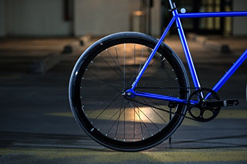 State Bicycle Blue Steel Fixed Gear Single Speed Bike 49cm
