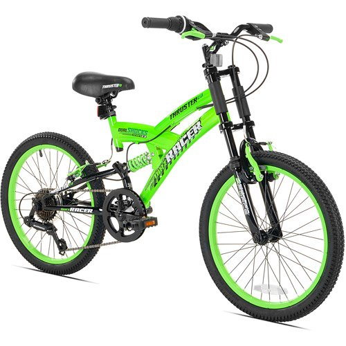 20″ Thruster Dirt DS Boys' Mountain Bike, Green – Fixie Cycles
