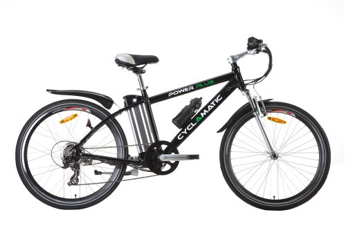 cyclamatic power plus electric mountain bike with lithium